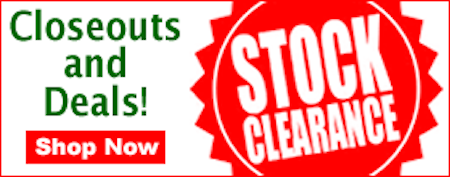 Huge Clearance Sale! Big Discounts! Save Big Money!